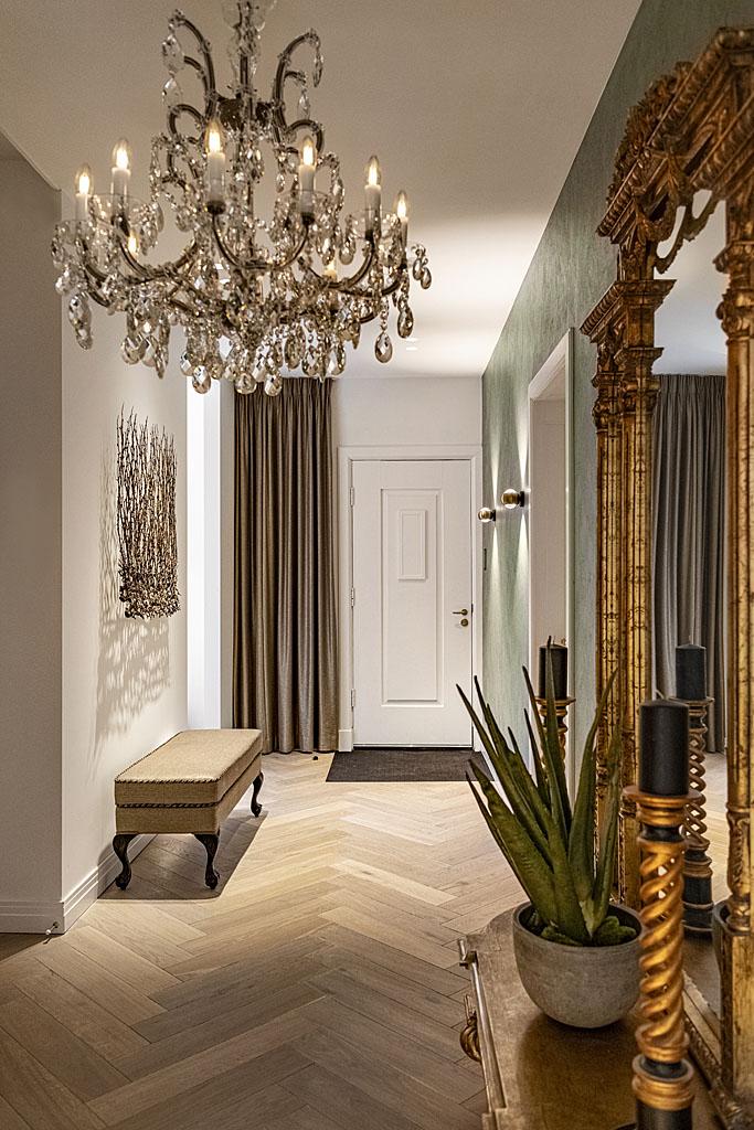 Luxe hal - spiegel